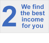 We find the best income for you
